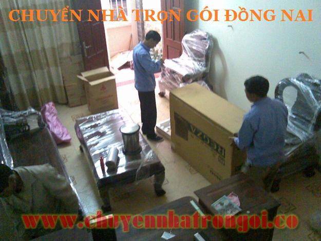 Chuyển nhà trọn gói, chở hàng giá rẻ tại Đồng Nai