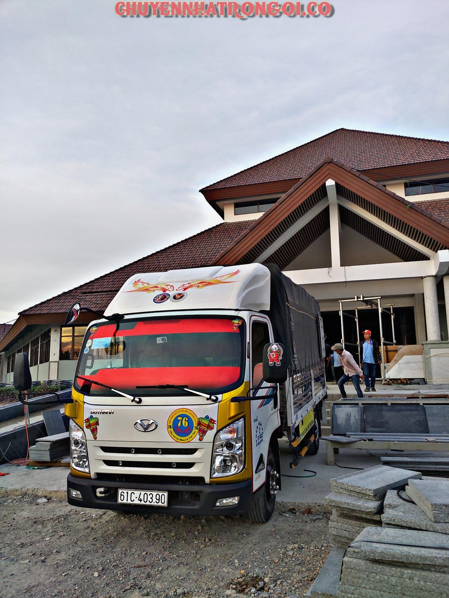 Dịch vụ chuyển nhà, chở hàng giá rẻ tại Bình Thuận